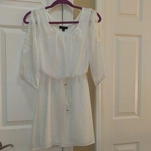 Dresses & Skirts - Juniors Open Shoulder Dress